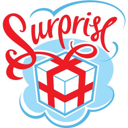 Surprise.