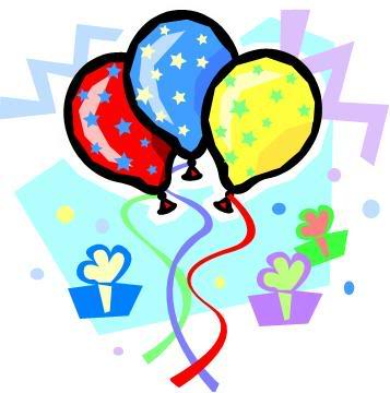 Surprise party clip art.