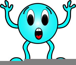 Free Surprised Child Clipart.