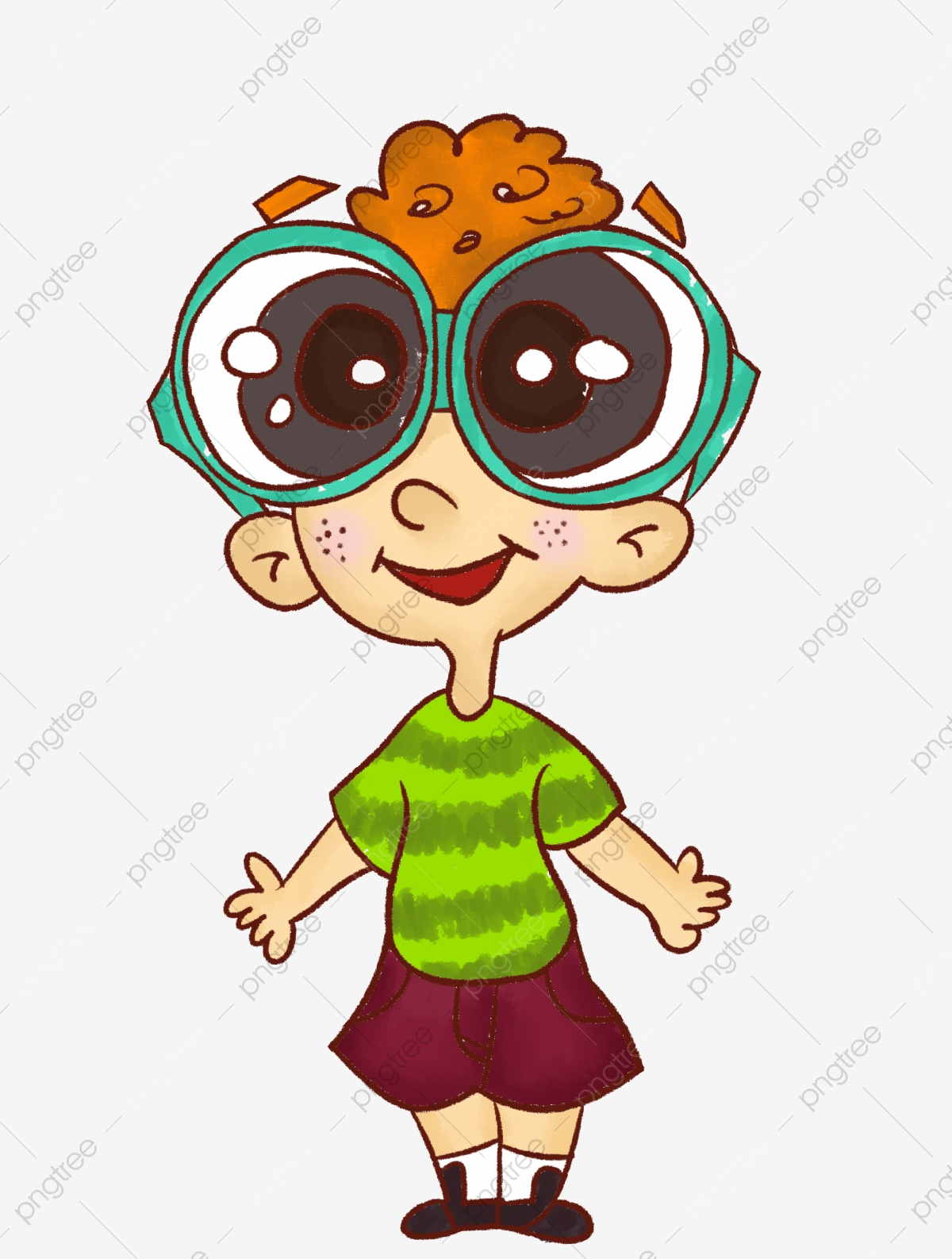 Cartoon Surprised Boy, Cartoon Clipart, Boy Clipart.