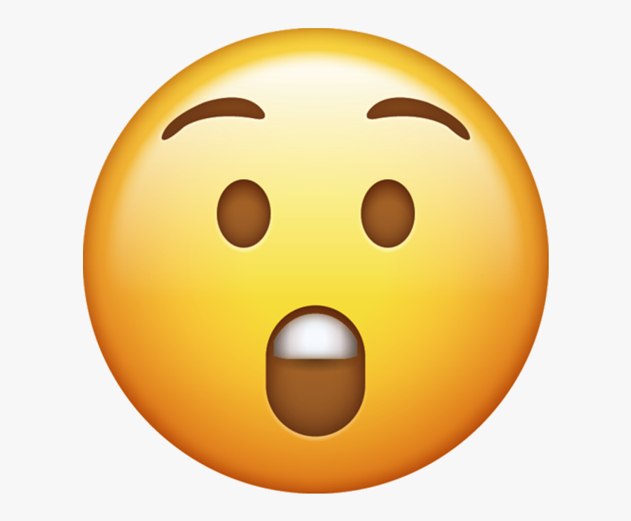Surprised Emoji Png.