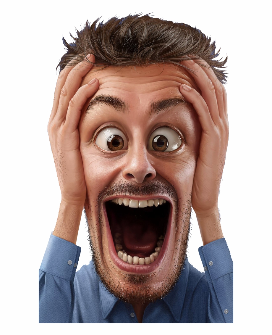 funny #face #surprise #shock #cartoon #bigmouth #openmouth.