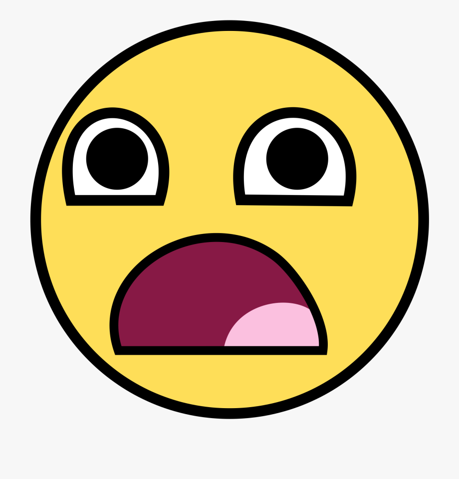 Surprised Face Png.