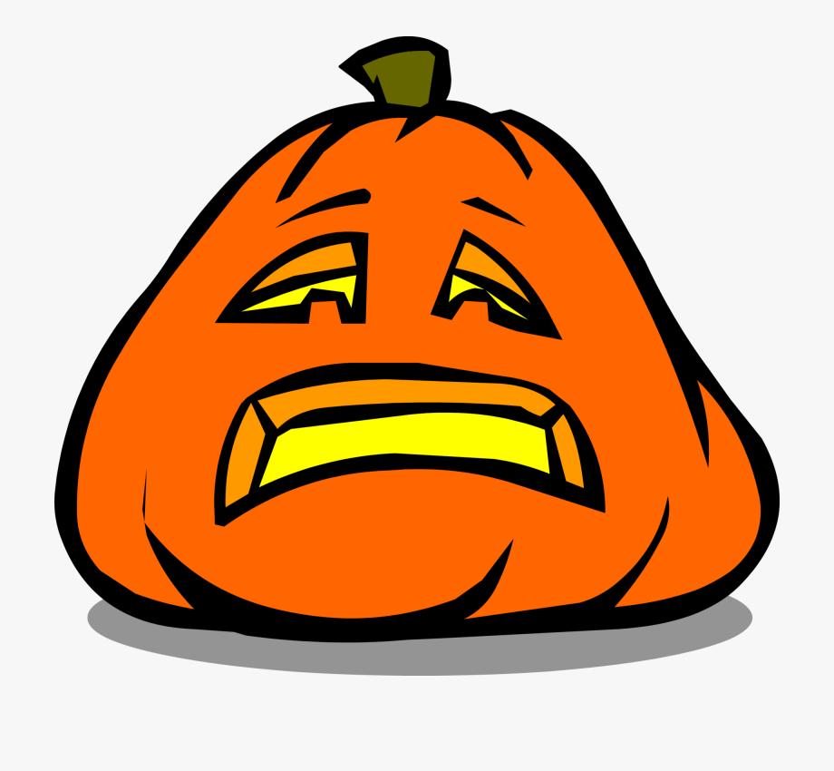 Sad Jack O Lantern In Game.