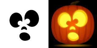 Image result for surprised face pumpkin.