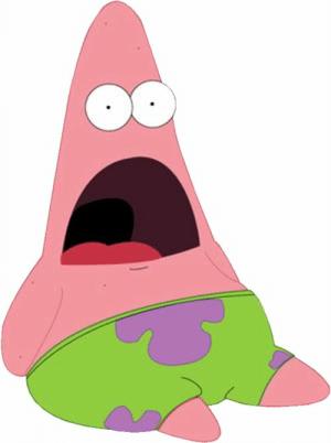 New Patrick Star Shocked Memes.