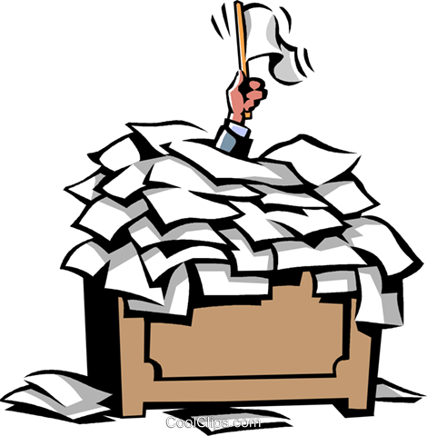 Schreibtisch clipart  Surrendering clipart - Clipground