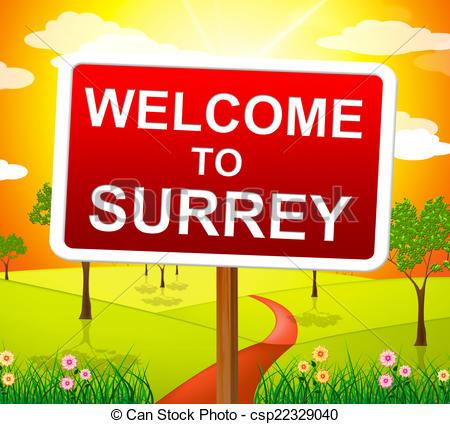 Surrey clipart.