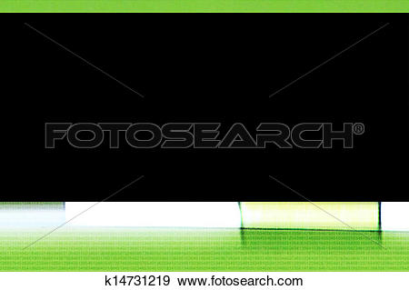 Stock Illustration of Black rectangle surrounded by light.