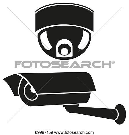 Showing post & media for Cartoon surveillance camera clip art.