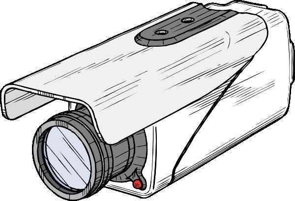 Video Surveillance Camera Clipart.