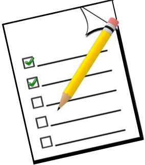 Survey clipart images.