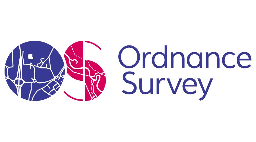 Ordnance Survey Vector Logo.