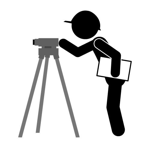 Land Surveying Clipart.