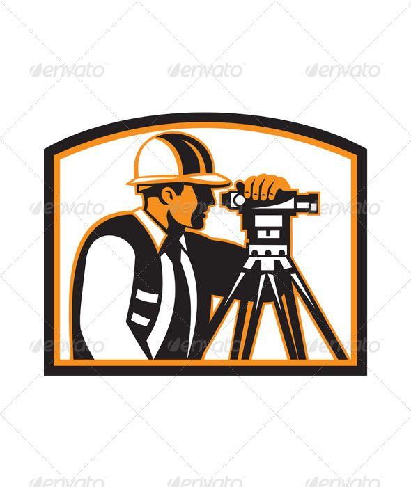 Surveyor Geodetic Engineer Survey Theodolite.
