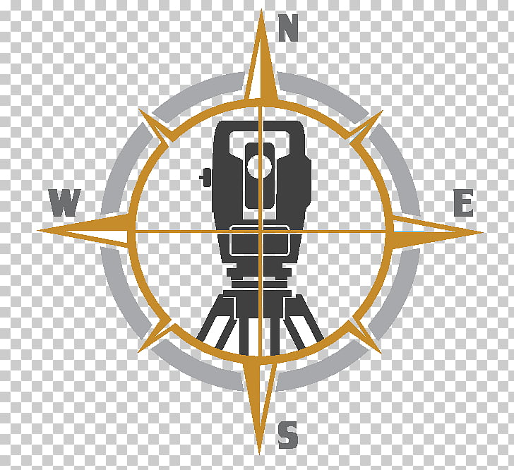 Surveyor Construction surveying Logo Total station Business.