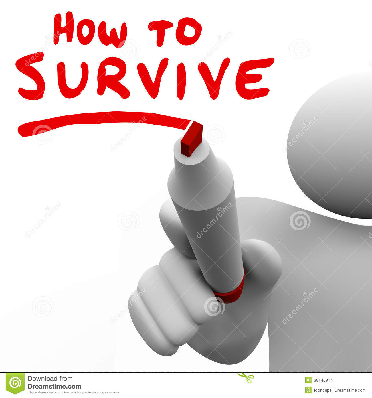Collection of Survival clipart.