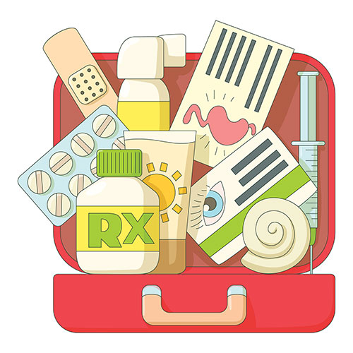 Emergency Kit Checklist for Kids and Families.