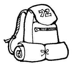 Survival Kit Clipart Black And White.
