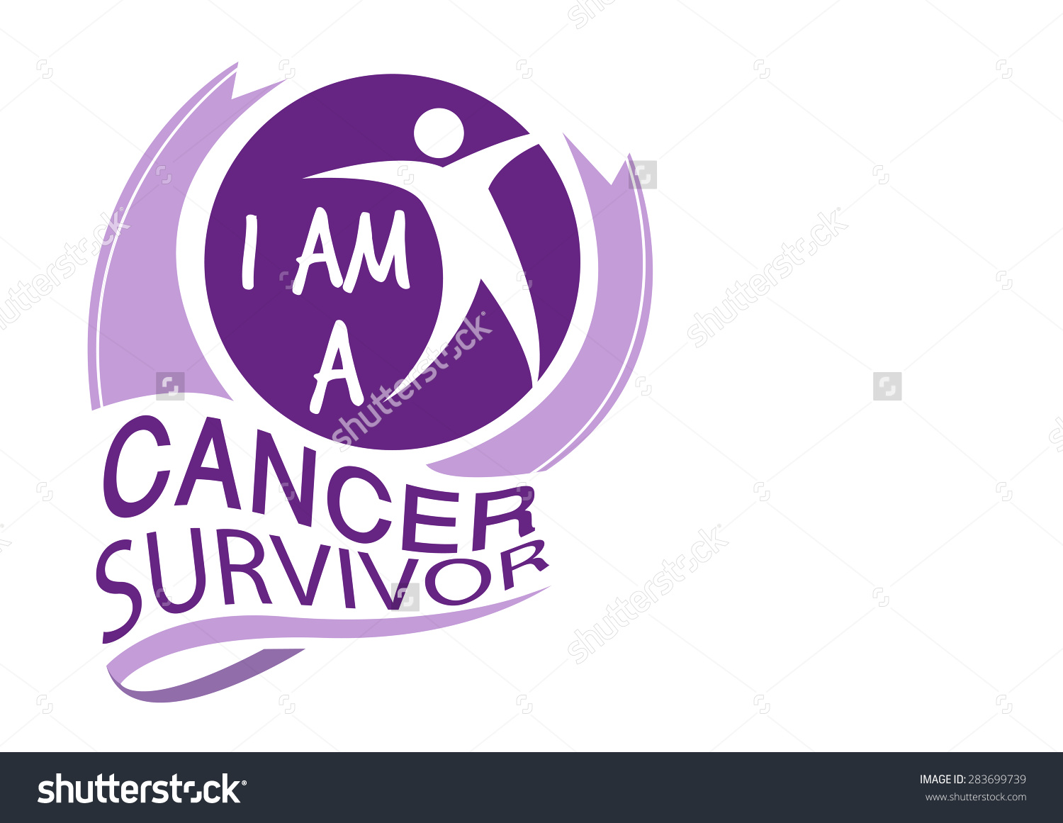Cancer survivor clip art.
