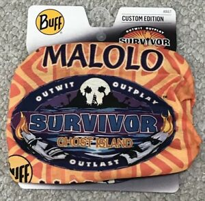 Details about NEW on Display Survivor Ghost Island Orange Malolo Tribe Buff  Season 36 CBS TV.