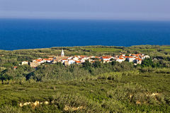 Mediterranean Village On Island Of Susak, Croatia Stock Image.