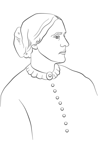 Susan B Anthony Drawing at PaintingValley.com.