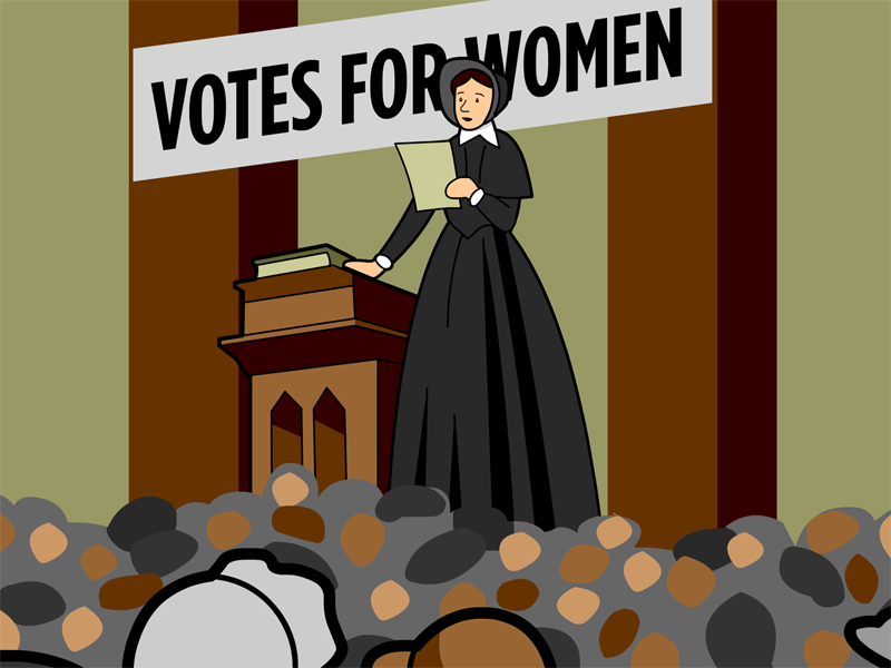 Susan b anthony clipart.