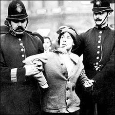 Image result for susan b anthony getting arrested.