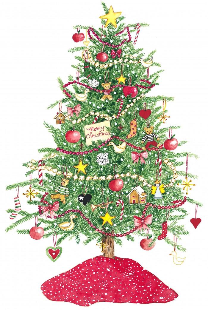 Susan Branch ~ Christmas Tree.