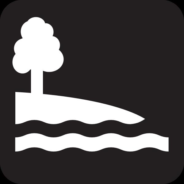 Shore Access Icon.
