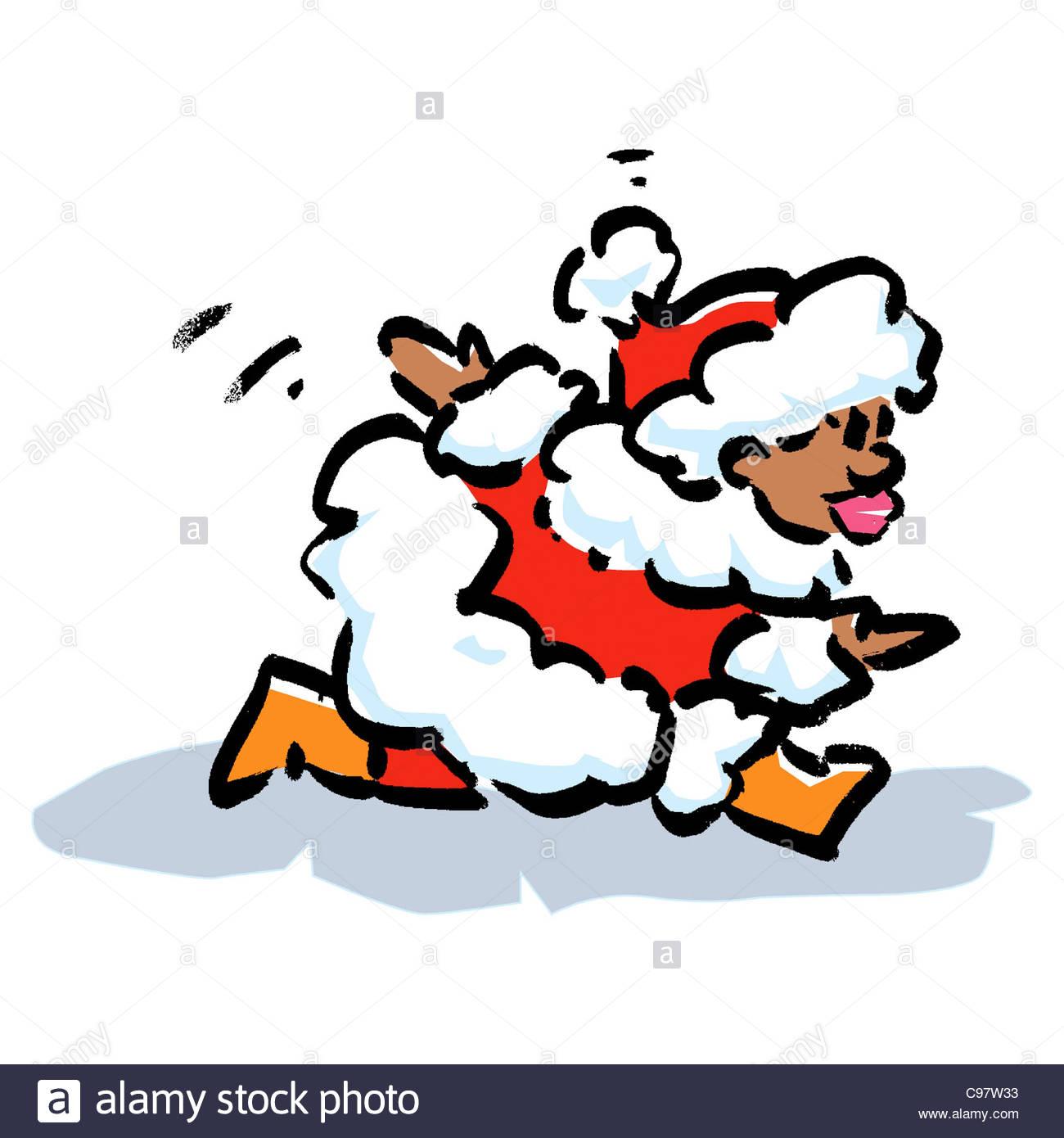 Santa Claus Africa Susanne Liebert Santa Claus Weihnachtsmaenner.