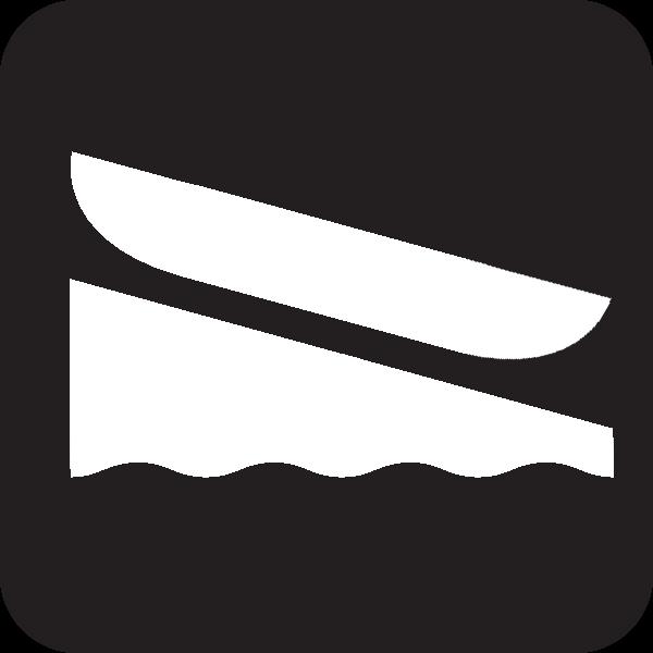 Kayak Launch Icon.
