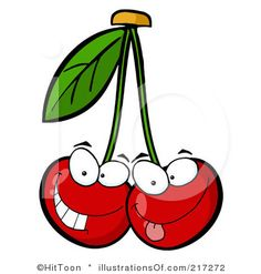 Gallery For > Cute Cherries Background.