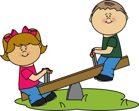 kids playing outside clipart - Clipground