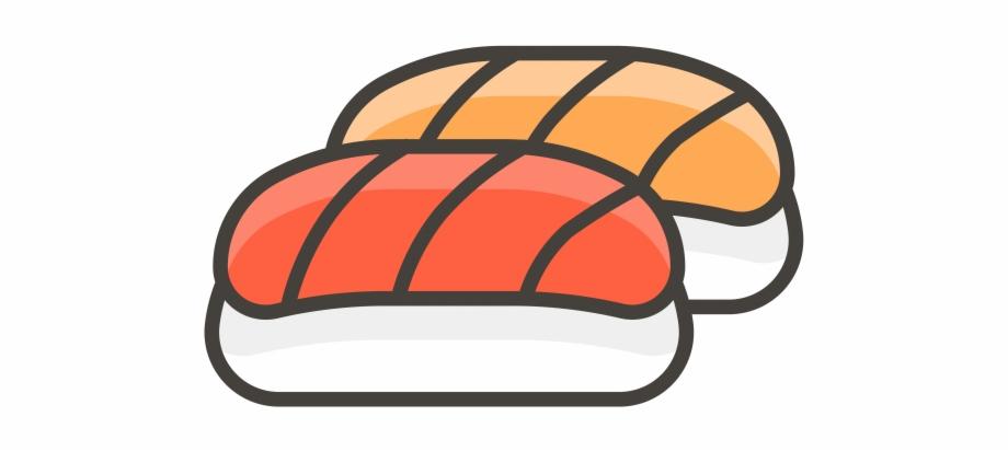 Sushi Emoji Icon.