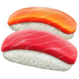 Sushi Emoji (U+1F363).