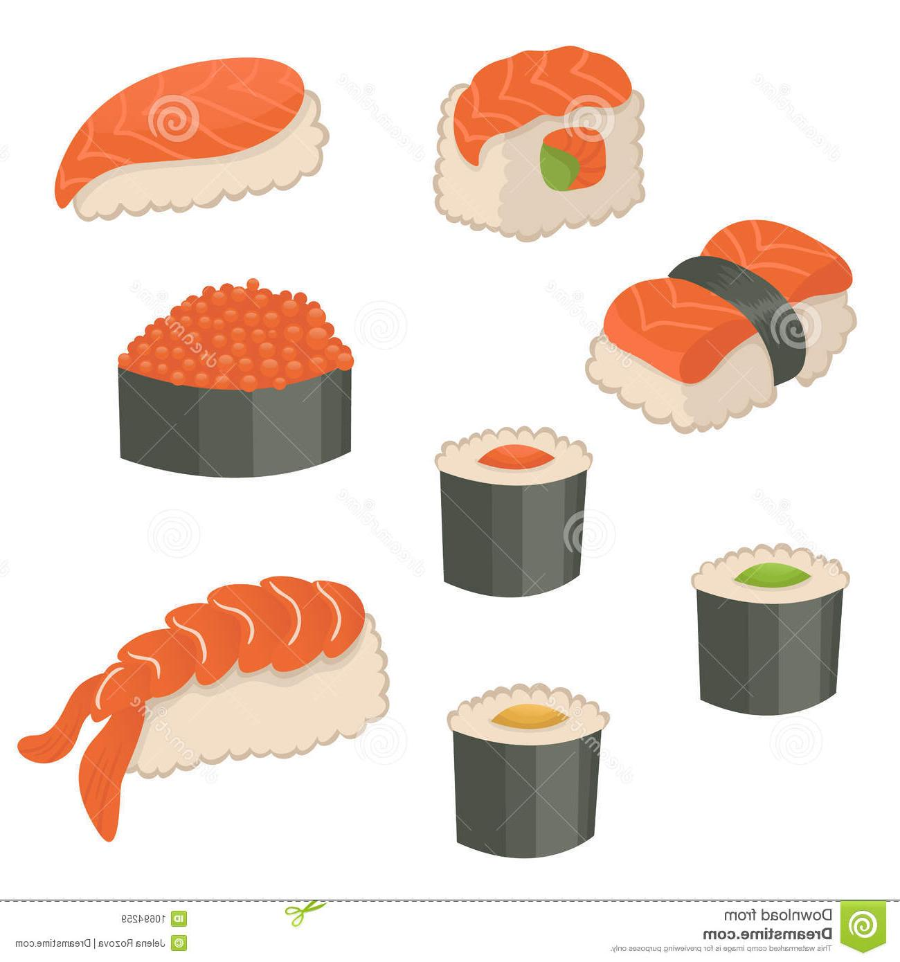 Library of sushi icon banner black and white library png.