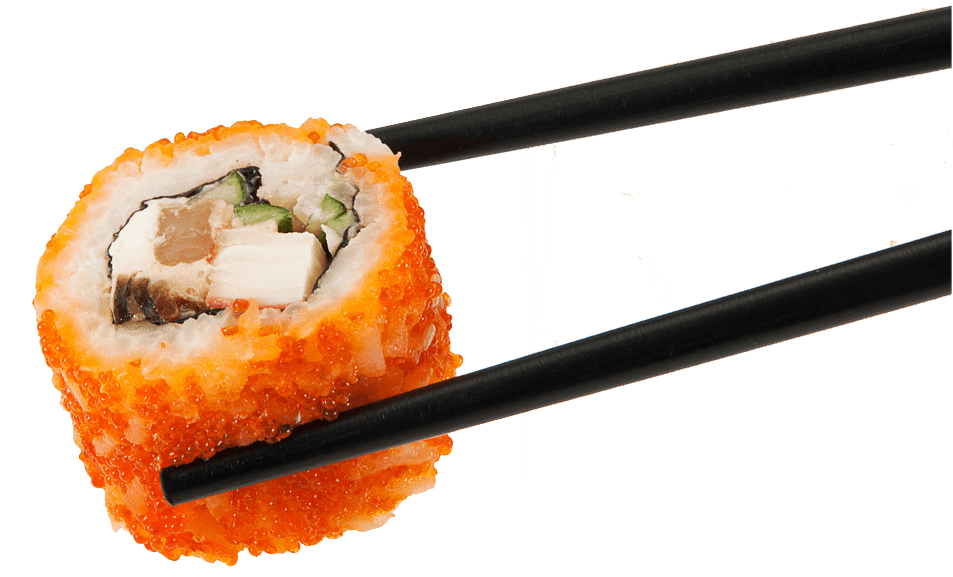 Sushi Eggs On Sticks transparent PNG.