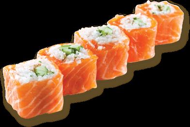 Sushi Row transparent PNG.