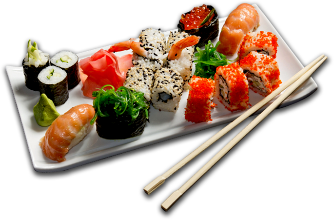 Sushi PNG images free download.