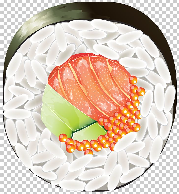 Sushi Japanese Cuisine PNG, Clipart, California Roll.