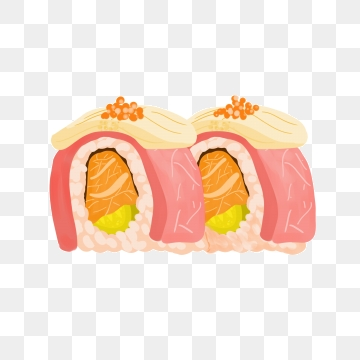 Sushi Roll Png, Vector, PSD, and Clipart With Transparent.