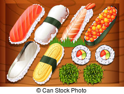Sushi meshi Clipart Vector and Illustration. 25 Sushi meshi clip.