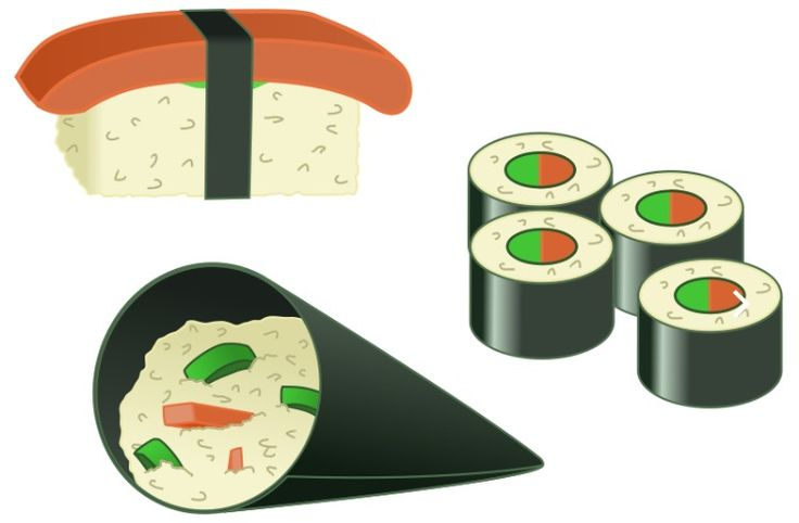 Sushi (すし, 寿司, 鮨?) is a food preparation originating in Japan.