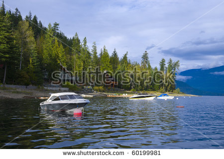Shuswap Lake Stock Photos, Royalty.