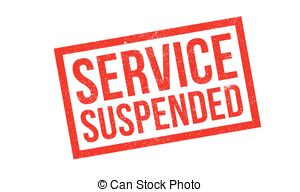 Service suspended Stock Illustration Images. 47 Service suspended.