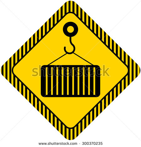 Caution Load Stock Vectors & Vector Clip Art.