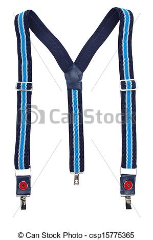 Stock Image of New suspenders.