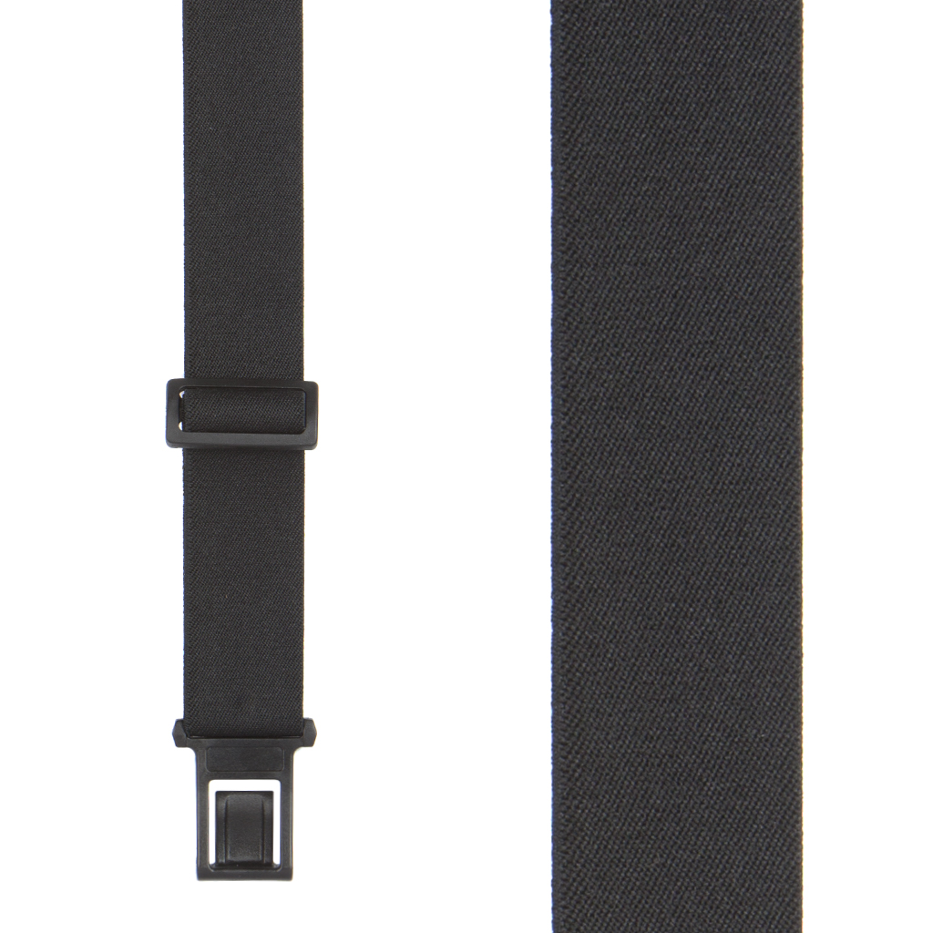 BLACK Perry Belt Clip Suspenders.